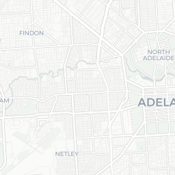 Adelaide Mapnificent Dynamic Public Transport Travel Time Maps