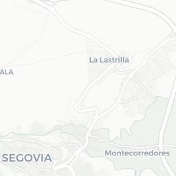 Map of Segovia City Tourist guide of Segovia City
