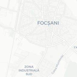 Map Of Focsani Tourist Guide Of Focsani - Focşani map