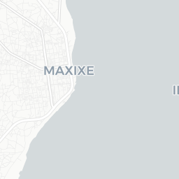 Map of Maxixe Tourist guide of Maxixe