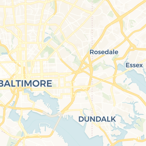 baltimore zip codes list