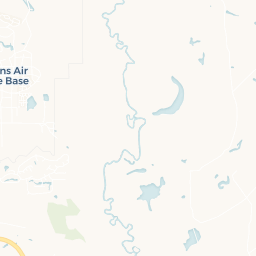 Map of Robins Air Force Base. Where is located Robins Air ...