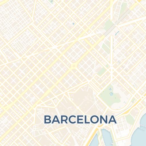 Piazza Di Spagna Cartina.Mappa Di Barcellona Cartina Interattiva E Download Mappe In Pdf Barcellona Org