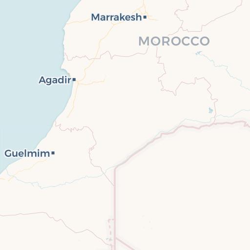 Dove Si Trova Il Marocco Cartina.Mappa Del Marocco Cartina Interattiva E Download Mappe In Pdf Marocco Org